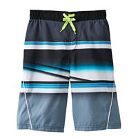 Boys 8-20 ZeroXposur Whiplash Striped Swim Trunks