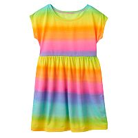 Girls 7-16 SO® Rainbow Swim Cover-Up