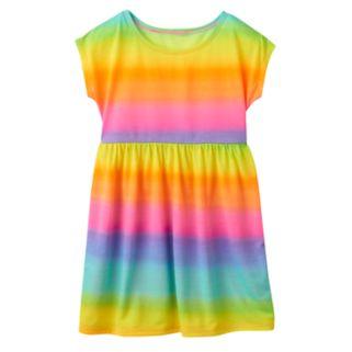 Girls 7-16 SO® Rainbow Swim Cover-Up