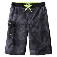 Boys 8-20 ZeroXposur Camo Textured Swim Trunks