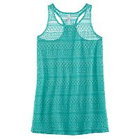 Girls 7-16 SO® Crochet Swim Cover-Up