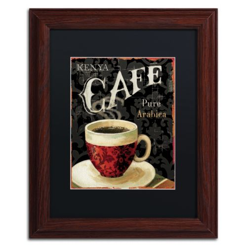 Trademark Fine Art Today's Coffee I Matted Framed Wall Art