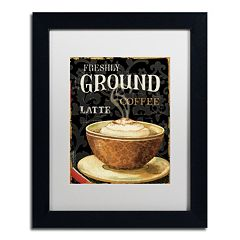 Trademark Fine Art Today's Coffee II Framed Wall Art