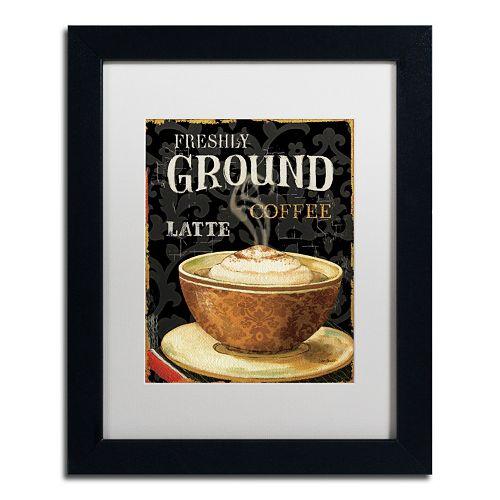 Trademark Fine Art Today's Coffee II Framed Wall Art