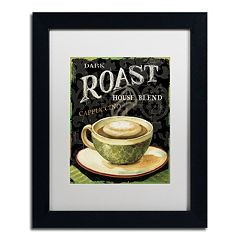 Trademark Fine Art Today's Coffee III Framed Wall Art