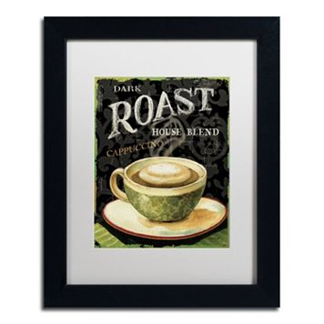 Trademark Fine Art Today's Coffee III Framed Wall Art