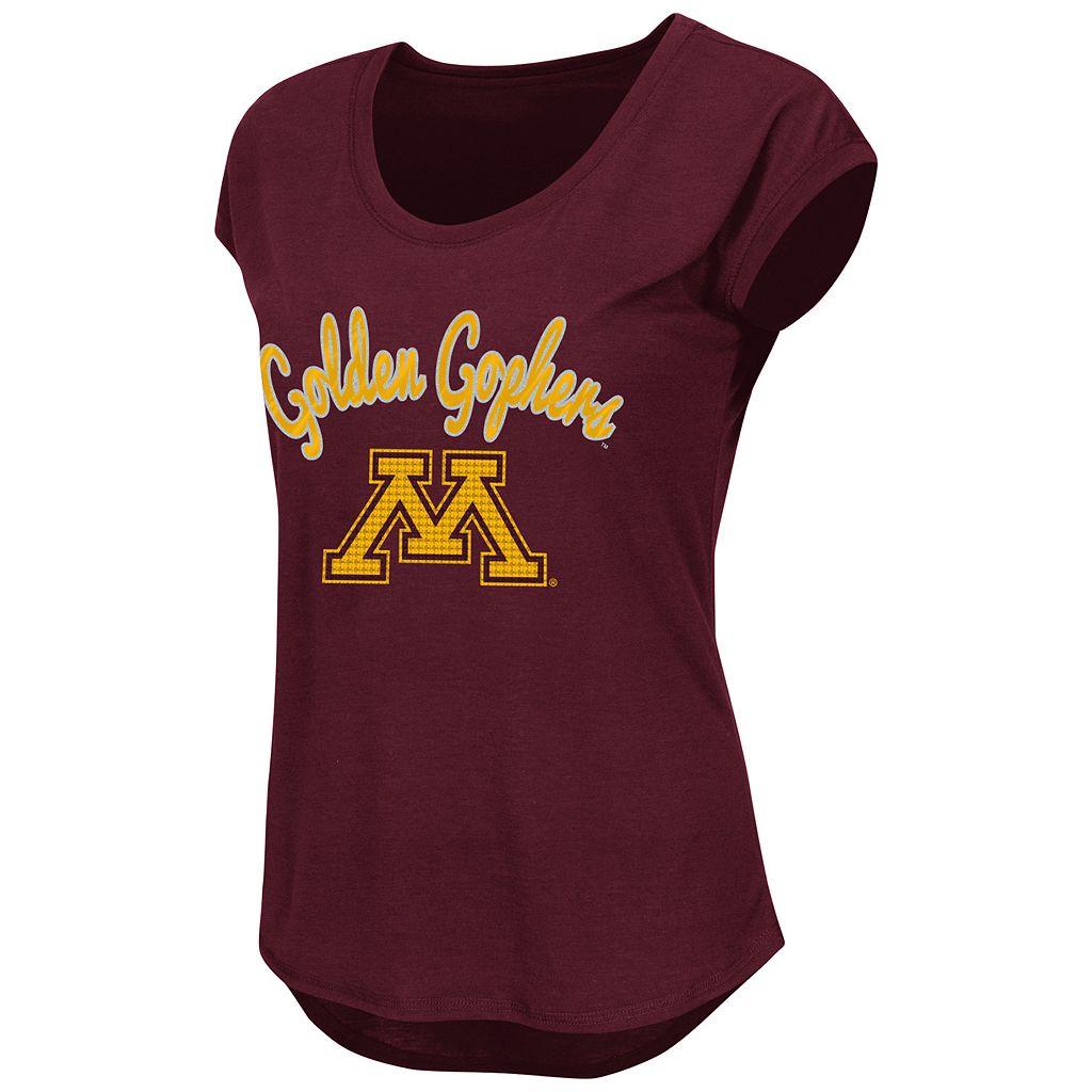 Juniors' Minnesota Golden Gophers Equinox Tee