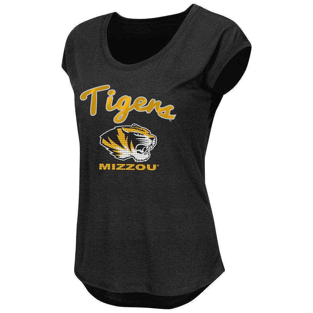 Juniors' Missouri Tigers Equinox Tee