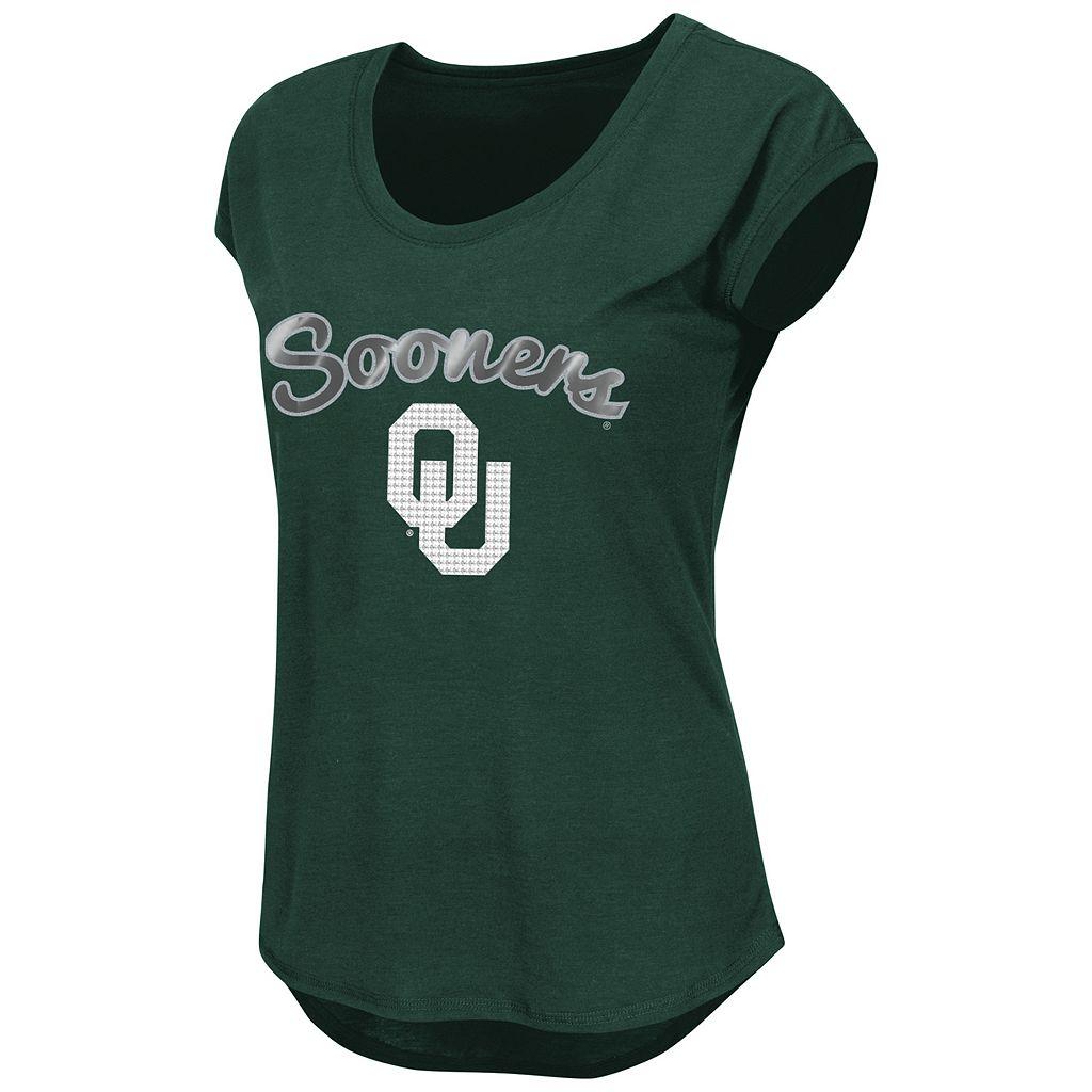 Juniors' Oklahoma Sooners Equinox Tee