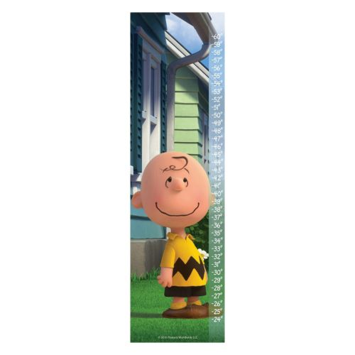 Peanuts Grinning Canvas Growth Chart by Marmont Hill