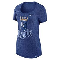 Women's Nike Kansas City Royals Marled Tee