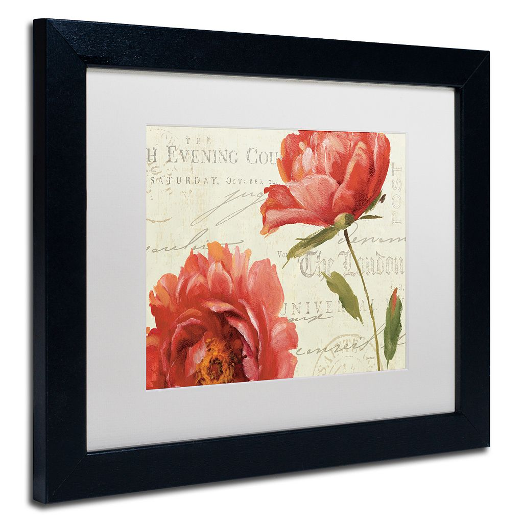 Trademark Fine Art My Own Words Framed Wall Art