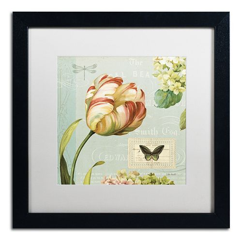 Trademark Fine Art Mother's Treasure I Framed Wall Art