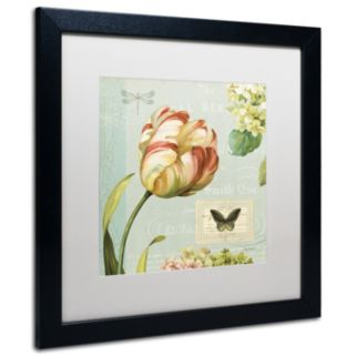 Trademark Fine Art Mother's Treasure I Framed Wall Art