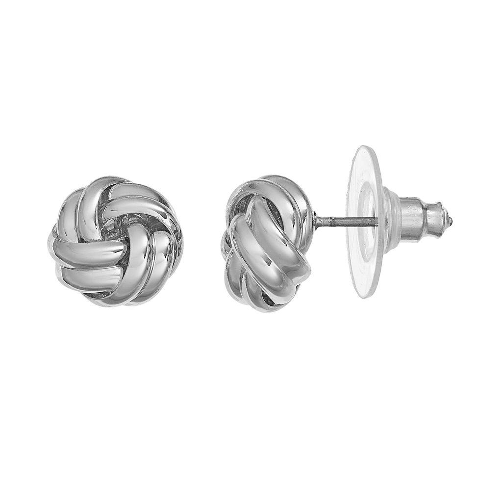 Chaps Love Knot Stud Earrings