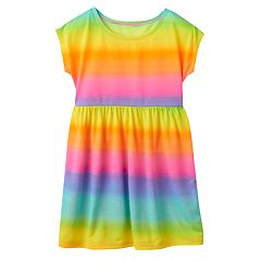 Girls 4-6x SO® Rainbow Swim Cover-Up