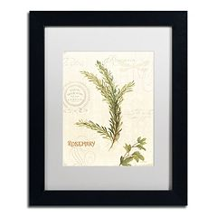Trademark Fine Art Aromantique II Black Framed Wall Art
