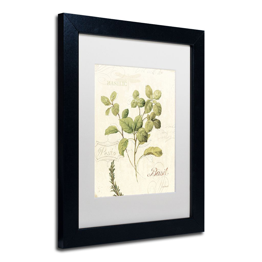 Trademark Fine Art Aromantique III Black Framed Wall Art