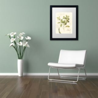 Trademark Fine Art Aromantique III Black Framed Wall Art