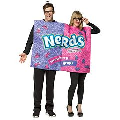 Adult Nerds Candy Couple Costume