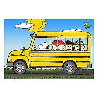 Peanuts School Bus Canvas Wall Art by Marmont Hill