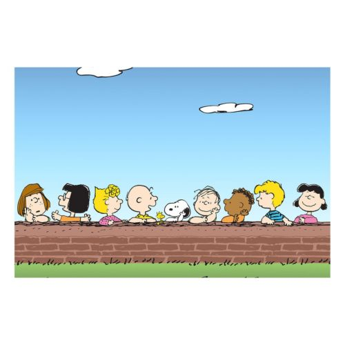 Peanuts Wall Canvas Wall Art by Marmont Hill