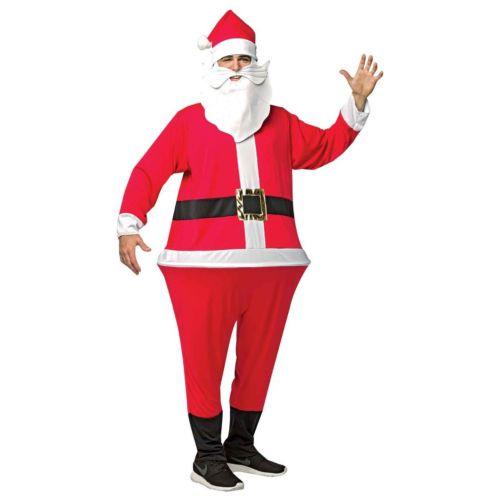 Adult Santa Hoop Suit Costume