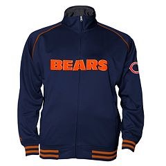 Big & Tall Majestic Chicago Bears Track Jacket
