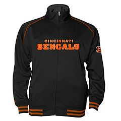 Big & Tall Majestic Cincinnati Bengals Track Jacket