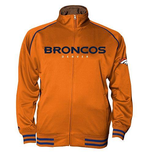 Big & Tall Majestic Denver Broncos Track Jacket