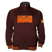 Big & Tall Majestic Cleveland Browns Track Jacket