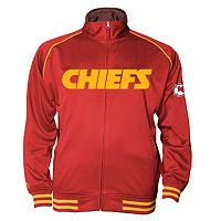 Big & Tall Majestic Kansas City Chiefs Track Jacket