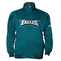 Big & Tall Majestic Philadelphia Eagles Track Jacket