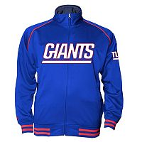 Big & Tall Majestic New York Giants Track Jacket