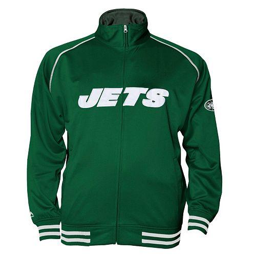 Big & Tall Majestic New York Jets Track Jacket