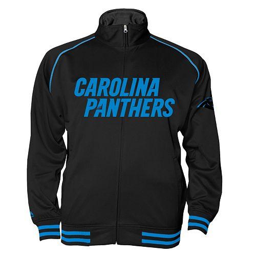 best sneakers 88b85 206cc Big & Tall Majestic Carolina Panthers Track Jacket