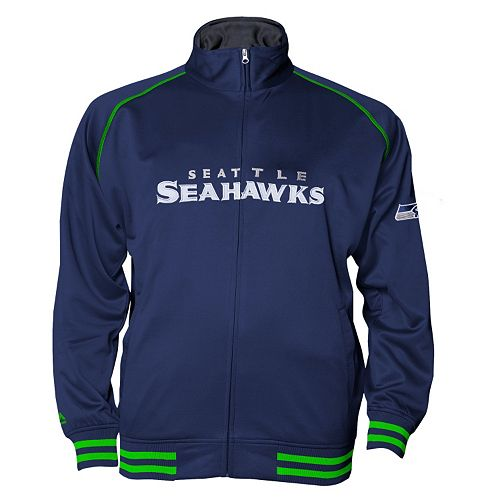 Big & Tall Majestic Seattle Seahawks Track Jacket