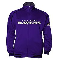Big & Tall Majestic Baltimore Ravens Track Jacket