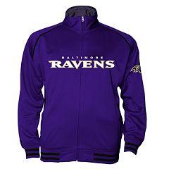 Big & Tall Majestic Baltimore Ravens Track Jacket