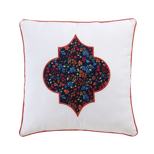 VCNY Inspire Me Mix & Match Floral Throw Pillow