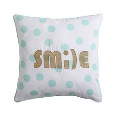 VCNY Inspire Me Mix & Match 'Smile' Throw Pillow