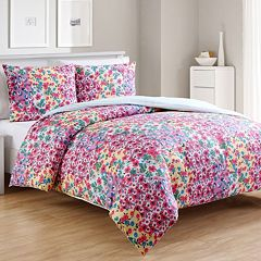VCNY Inspire Me Mix & Match River Rose Comforter Set