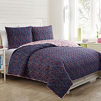 VCNY Inspire Me Mix & Match Flirt Quilt Set