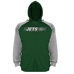 Big & Tall Majestic New York Jets Fleece Hoodie