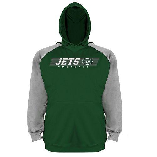 Big & Tall Majestic New York Jets Fleece Hoodie