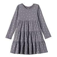 Girls 4-10 Jumping Beans® Glitter Tiered Dress