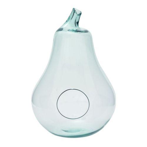 Glass Pear Table Decor