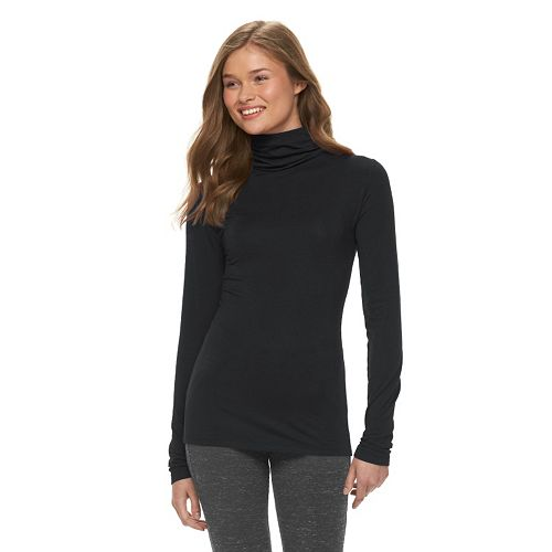 Juniors' SO® Long Sleeve Turtleneck