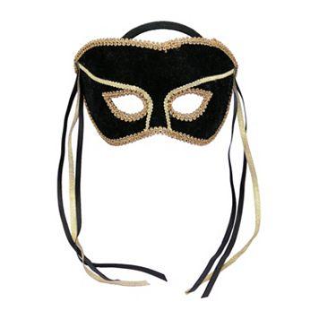 Adult Masquerade Costume Half Mask