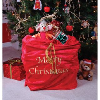 "Adult Deluxe ""Merry Christmas"" Santa Sack"